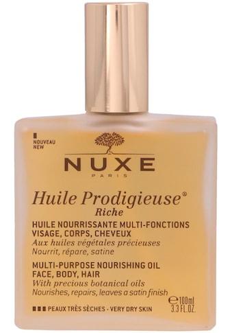 Nuxe Körperöl »Huile Prodigieuse Riche Multi-Purpose Nourishing Oil« kaufen
