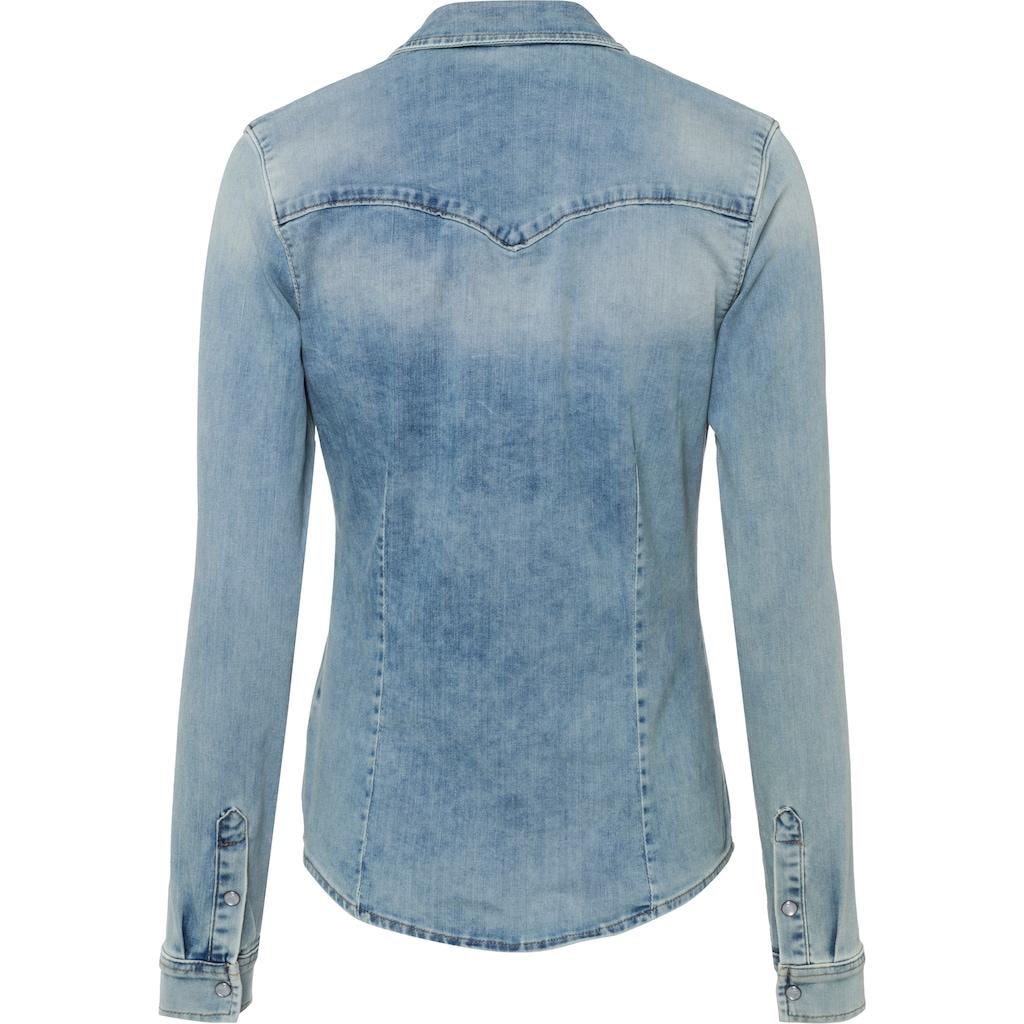 LTB Hemdbluse »LUCINDA«, mit aufgesetzten Brusttaschen