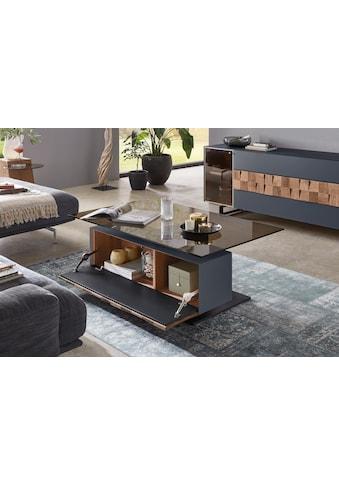 LEONARDO Couchtisch »LIV«, Massivholzkacheln enthalten, Breite 125 cm, wahlweise mit... kaufen