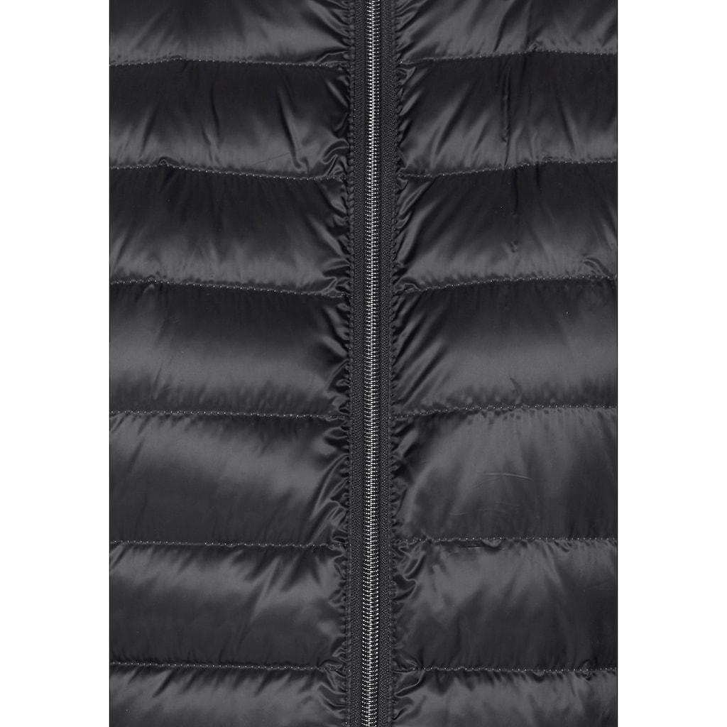 Aniston CASUAL Daunenjacke, mit abnehmbarer Kapuze