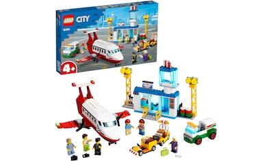 """LEGO® Konstruktionsspielsteine """"Flughafen (60261), LEGO® City"""", Kunststoff, (286 - tlg.) kaufen"""