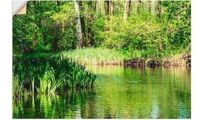 Artland Wandbild »Landschaft im Spreewald bei Lübbenau« kaufen