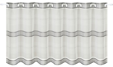 Gerster Scheibengardine »Ubbe«, HxB: 50x140, mit modernem Streifen Design kaufen