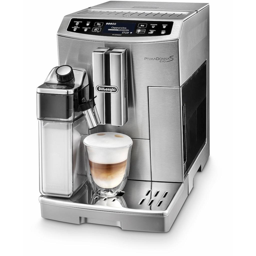De'Longhi Kaffeevollautomat Prima Donna S EVO ECAM 510.55.M, 1,8l Tank, Kegelmahlwerk