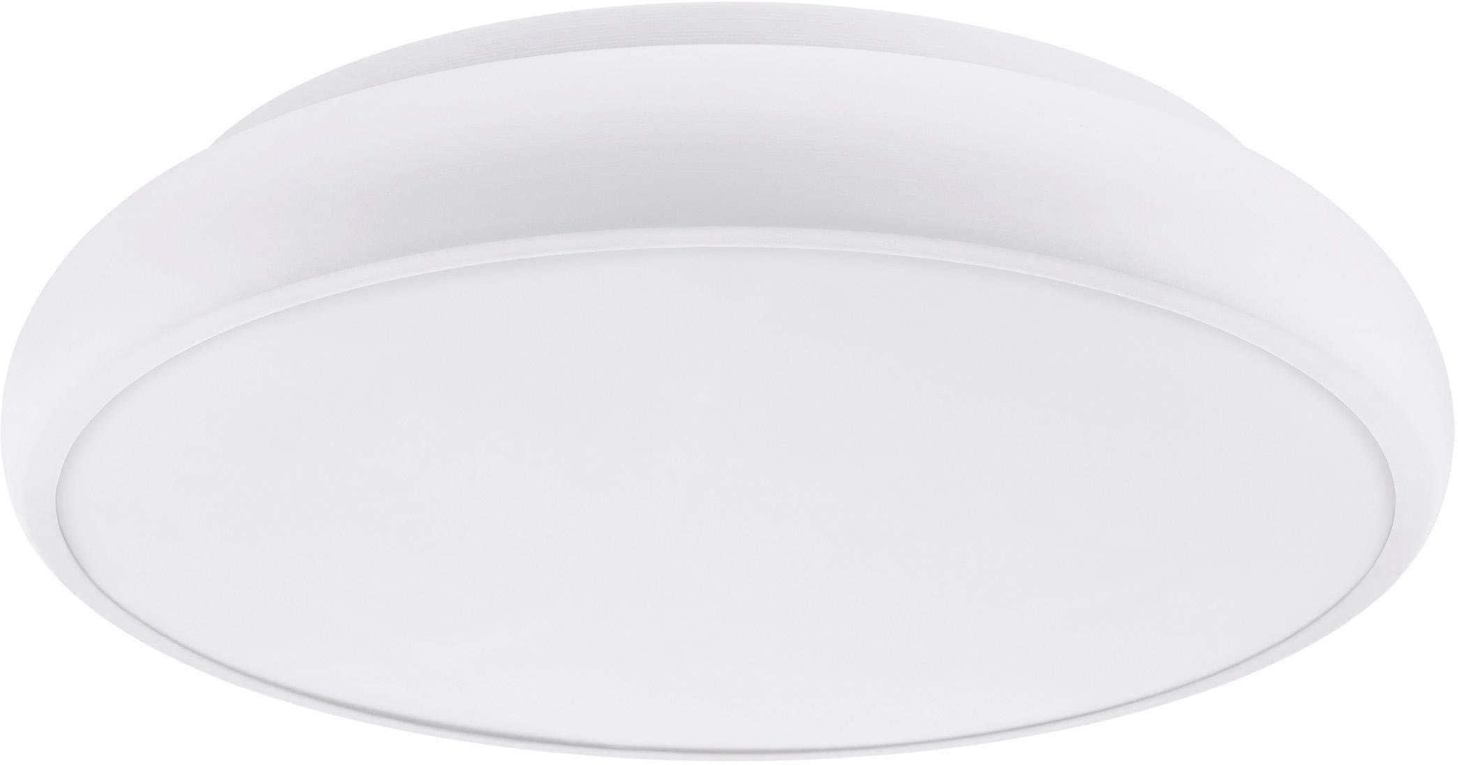 EGLO Deckenleuchte RIODEVA-C, LED-Board, Warmweiß-Tageslichtweiß-Neutralweiß-Kaltweiß, EGLO CONNECT, Steuerung über APP + Fernbedienung, BLE, CCT, RGB