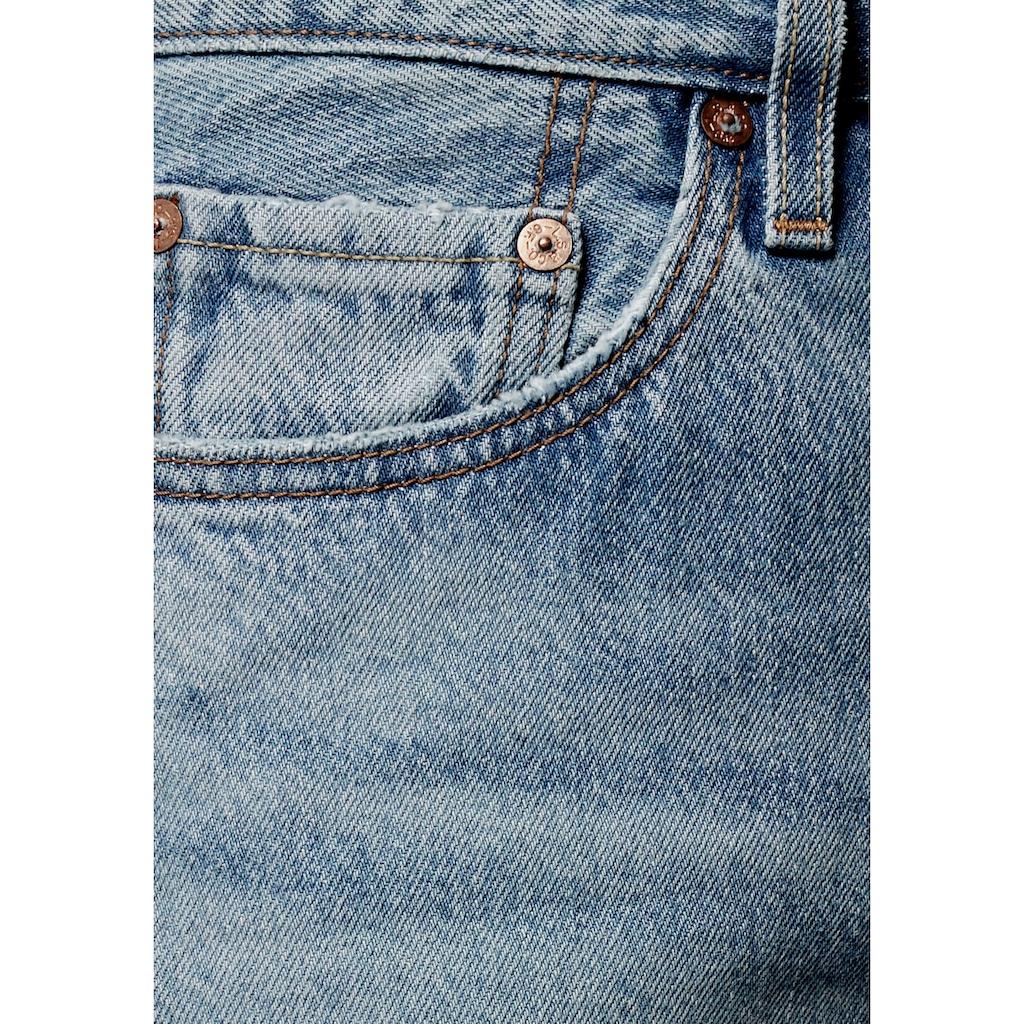 Levi's® Destroyed-Jeans »501«, Verkürzte Form mit Destroyed-Effekten
