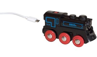 BRIO® Spielzeug-Eisenbahn »BRIO® WORLD Schwarze Akkulok mit Mini USB«, FSC® - schützt... kaufen