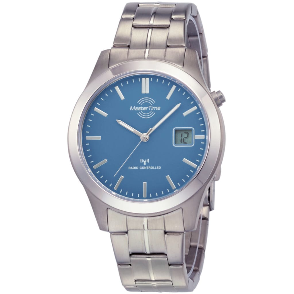 MASTER TIME Funkuhr »MTGT-10351-31M«