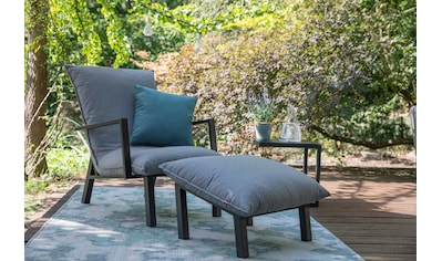 Siena Garden Loungesessel »Loungesessel Rockford«, Aluminium, mit Fußhocker, inkl.... kaufen