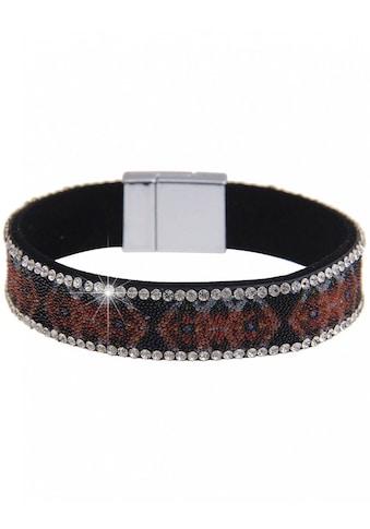 leslii Armband mit ausgefallenen Strasssteinen kaufen