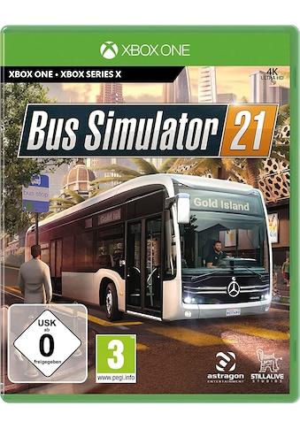 Astragon Spiel »Bus Simulator 21«, Xbox One kaufen