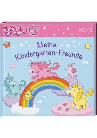 Haba Buch »Freundebuch Einhorn Glitzerglück – Meine Kindergarten-Freunde« kaufen