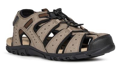Geox Sandale »UOMO STRADA«, mit praktischem Fersenklettverschluss kaufen