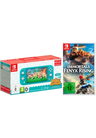 Nintendo Switch Konsolen-Set »Lite«, Animal Crossing Edition + Immortals Fenyx Rising kaufen