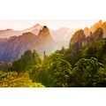 Papermoon Fototapete »Berg Sonnenaufgang«, Vliestapete, hochwertiger Digitaldruck