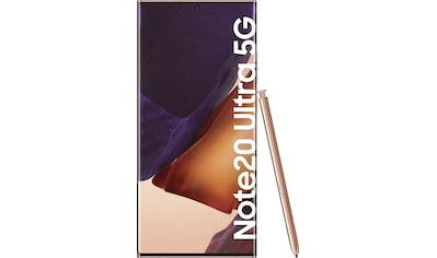 Samsung Galaxy Note20 Ultra 5G Smartphone (17,45 cm / 6,9 Zoll, 512 GB, 108 MP Kamera) kaufen