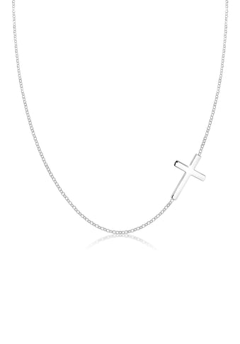 Elli Collierkettchen »mit Kreuz Schlicht 925 Sterling Silber« kaufen