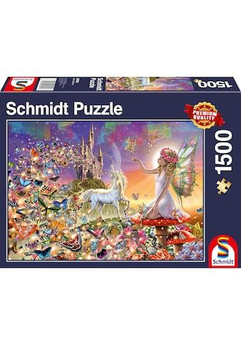 Schmidt Spiele Puzzle »Märchenhaftes Zauberland«, Made in Europe kaufen
