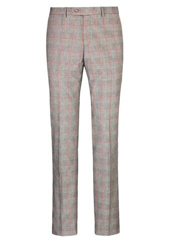 East Club London Anzughose mit schickem Karomuster kaufen