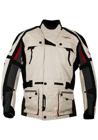 roleff Motorradjacke »CHICAGO«, Mit Sicherheitsstreifen kaufen