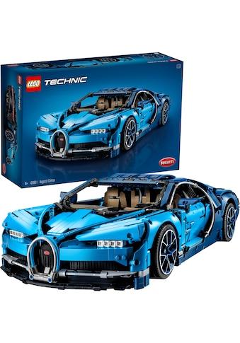 """LEGO® Konstruktionsspielsteine """"Bugatti Chiron (42083), LEGO® Technic"""", Kunststoff, (3599 - tlg.) kaufen"""