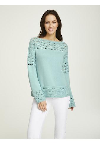 Pullover mit Ajourstrick kaufen