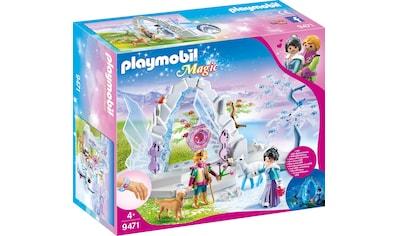 "Playmobil® Konstruktions - Spielset ""Kristalltor zur Winterwelt (9471), Magic"", Kunststoff kaufen"