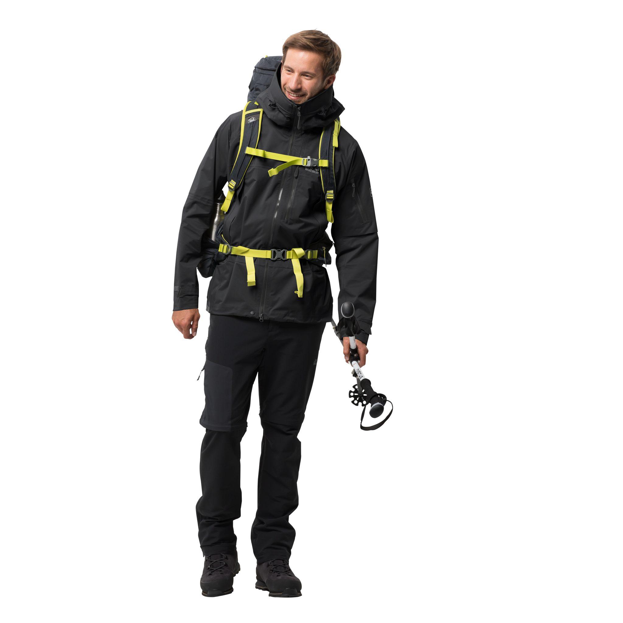 Jack Wolfskin Trekkingjacke THE HUMBOLDT JACKET | Sportbekleidung > Sportjacken > Outdoorjacken | Schwarz | Jack Wolfskin