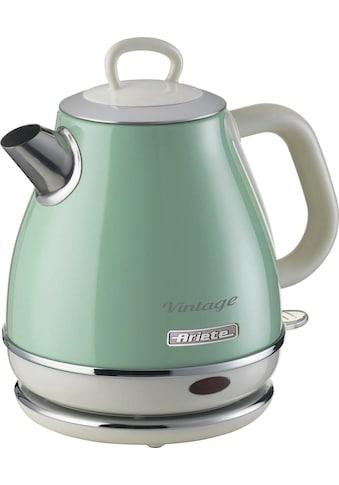 Ariete Wasserkocher, 2868GR Vintage 1 L grün, 1 Liter, 1630 Watt kaufen