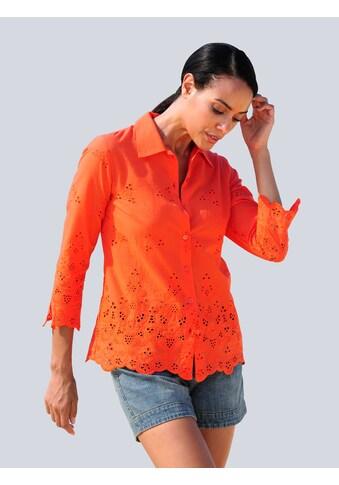 Alba Moda Klassische Bluse, mit Stickerei kaufen