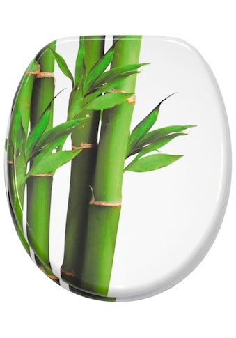 Sanilo WC-Sitz »Bambus Grün«, mit Absenkautomatik kaufen