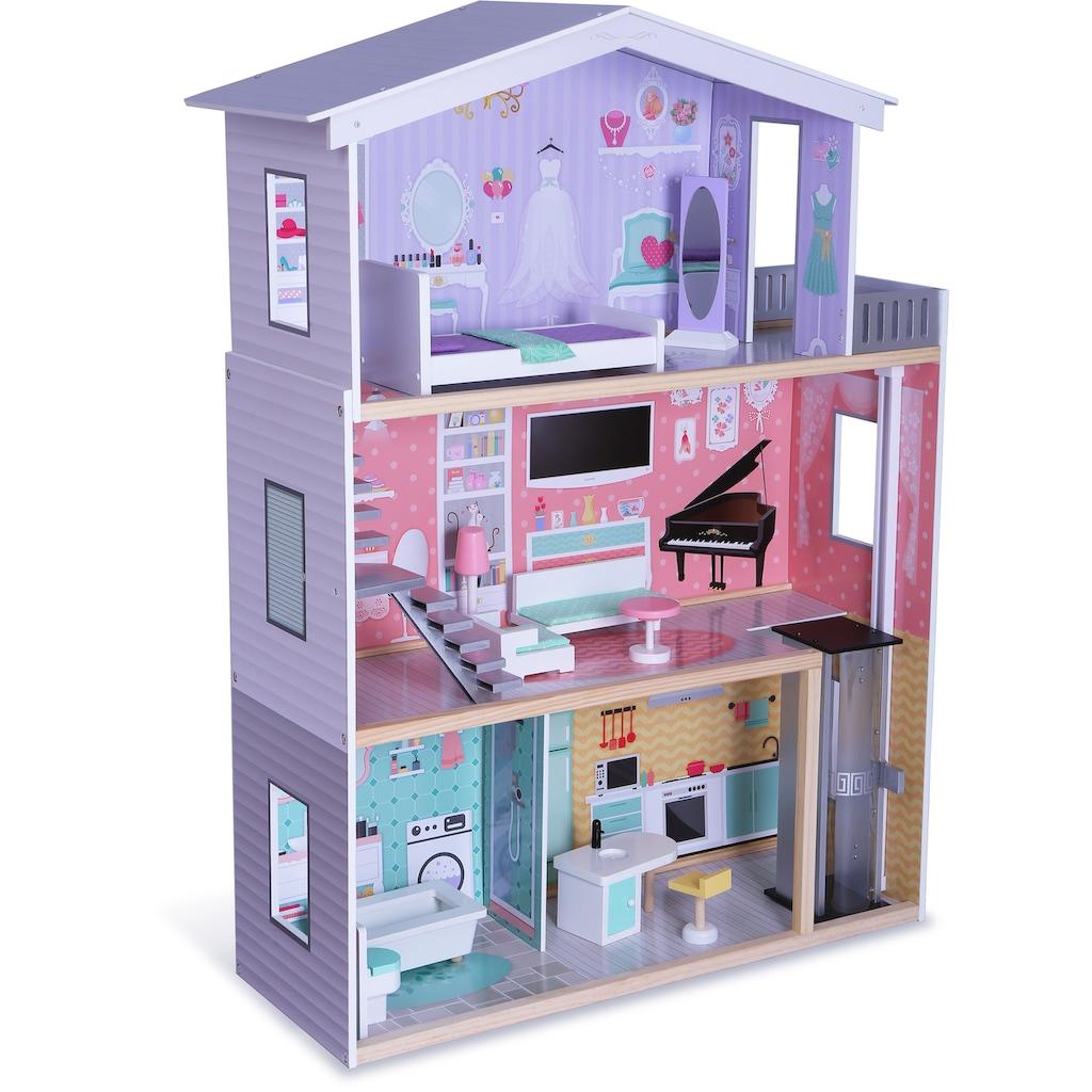 CHIC2000 Puppenhaus »Isabella«, inkl. Puppenmöbel