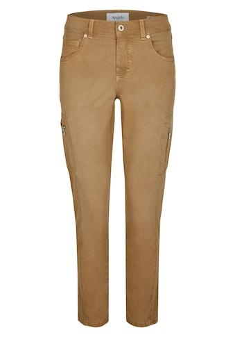 ANGELS Ankle-Jeans,Ornella Cargo' mit Reißverschlusstaschen kaufen