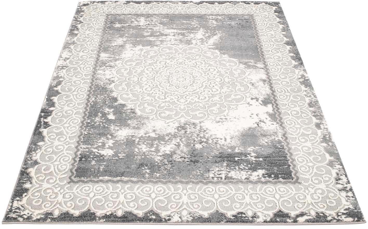 Teppich Platin 8058 Carpet City rechteckig Höhe 11 mm maschinell gewebt