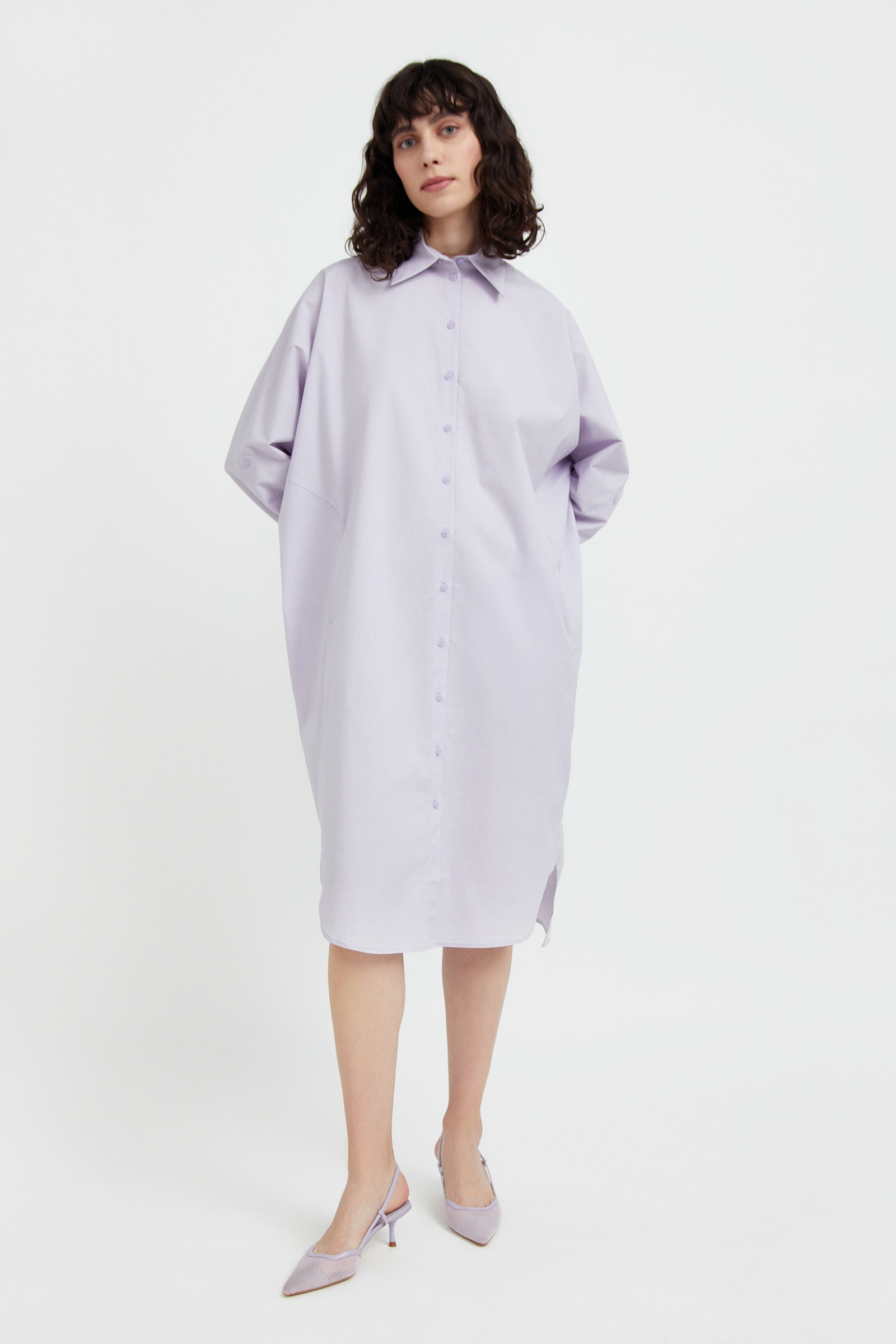 finn flare -  Jerseykleid, mit lockerem Schnitt
