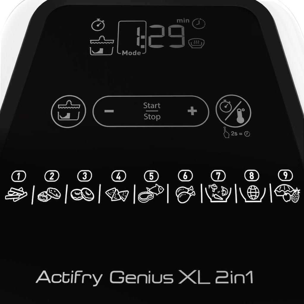 Tefal Heissluftfritteuse YV9708 ActiFry Genius XL 2in1, 1500 Watt