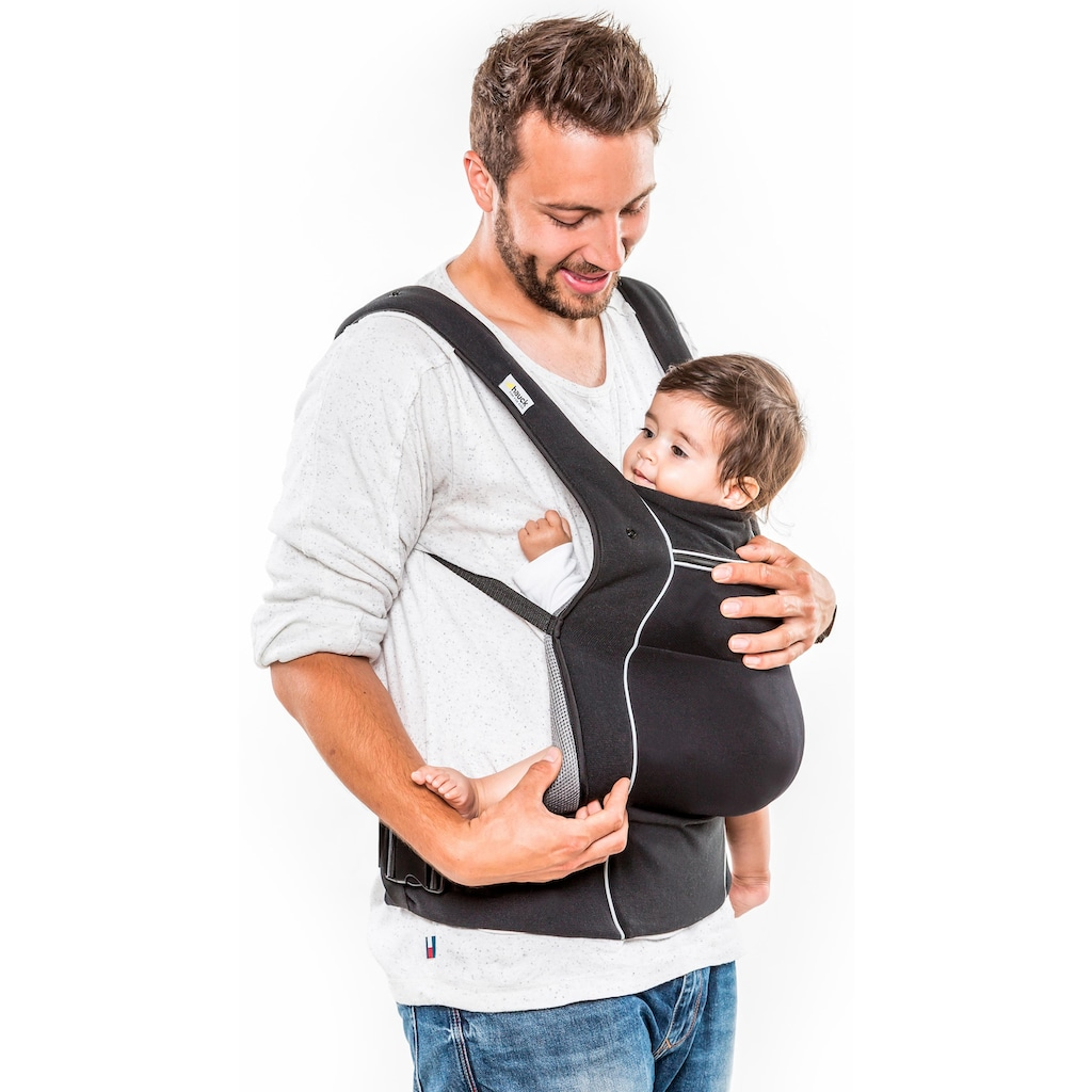 Hauck Babytrage »Close To Me, Black«, bis 12 kg