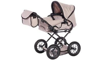 "Knorrtoys® Kombi - Puppenwagen ""Ruby  -  Jeans Beige"" kaufen"