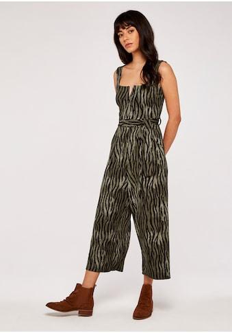 Apricot Jumpsuit »Zebra Notch Square Neck Jumpsuit«, (mit Bindegürtel), mit tiefem... kaufen