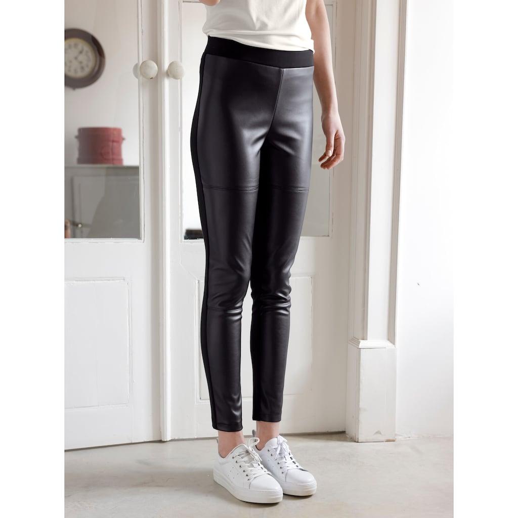 Dress In Leggings, (1 tlg.), mit Kunstleder