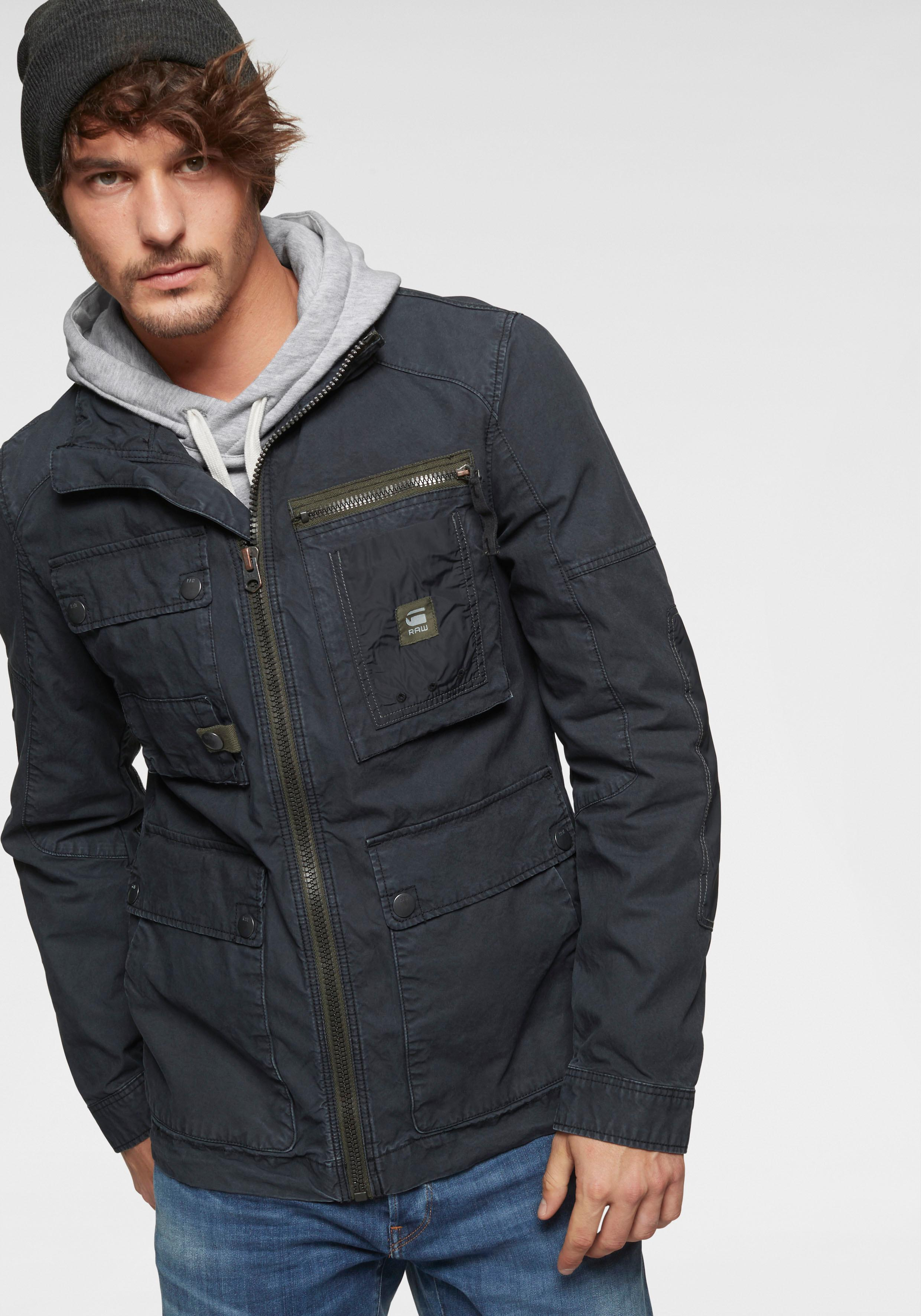 G-Star RAW Fieldjacket Grizzer Field Overshirt | Bekleidung > Jacken > Fieldjackets | Blau | G-Star Raw