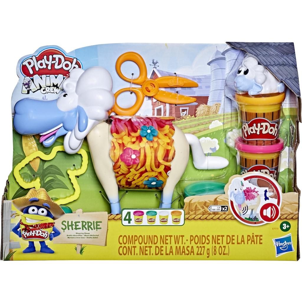 Hasbro Knete »Play-Doh Animal Crew, Sherrie Mama Wollschaf«