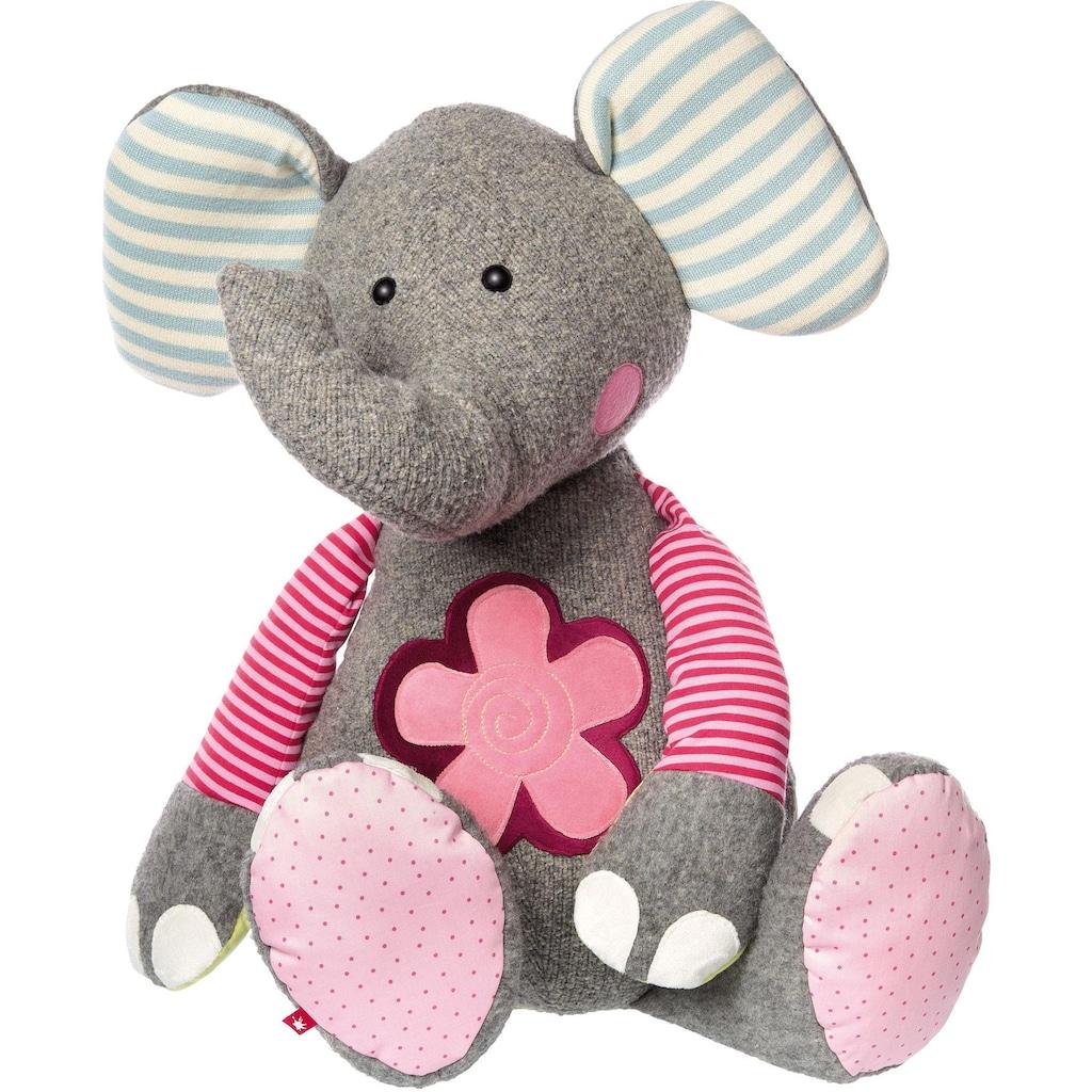 Sigikid Kuscheltier »Elefant, XXL Patchwork Sweety«, Made in Europe