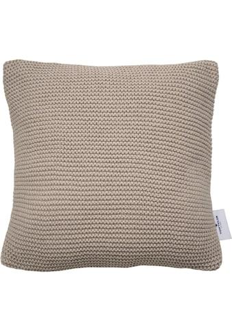TOM TAILOR Kissenhülle »Plain Knit«, (1 St.), mit Strickoptik kaufen