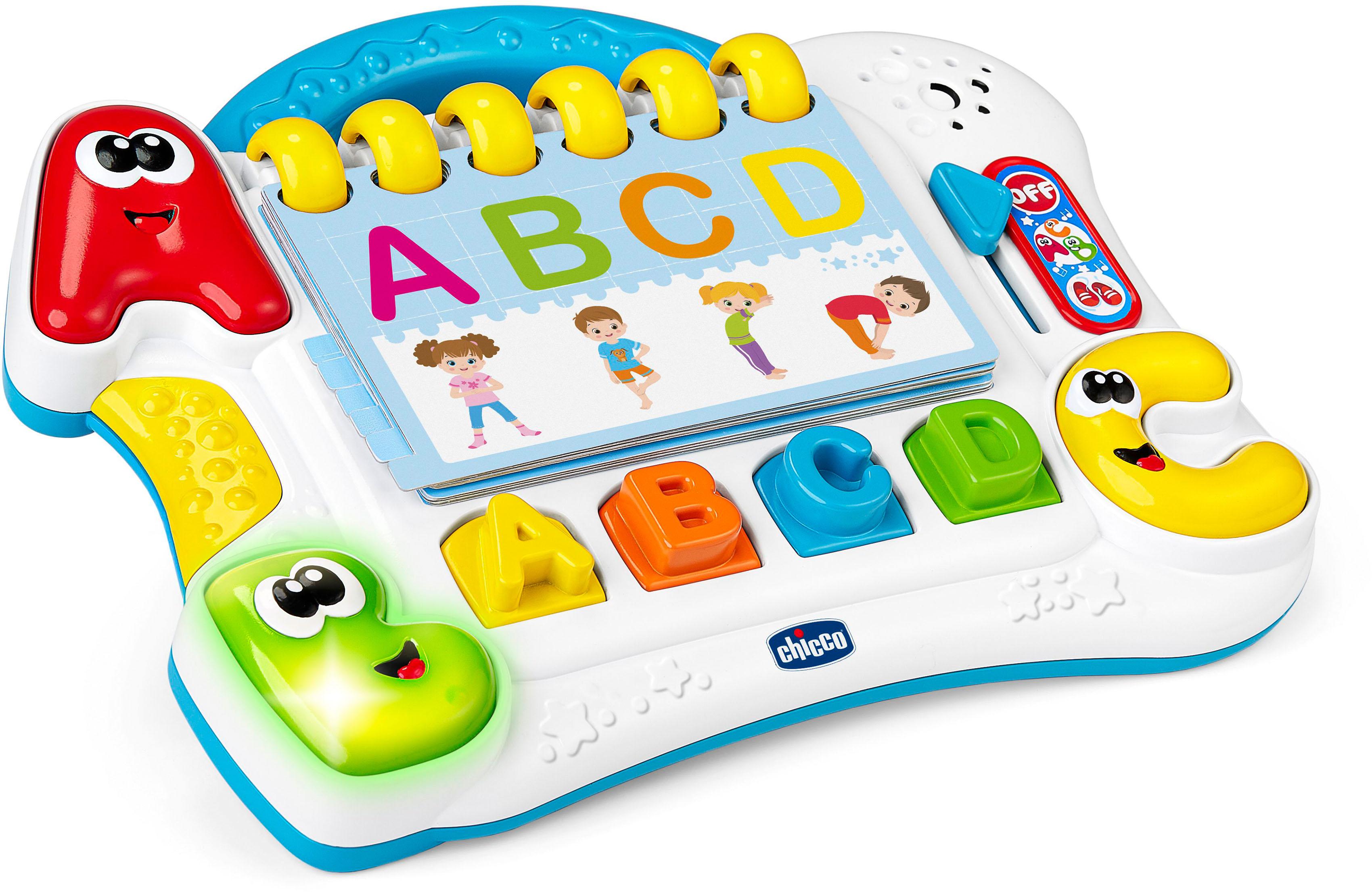 Chicco Lernspielzeug ABC Körperalphabet bunt Kinder Lernspiele