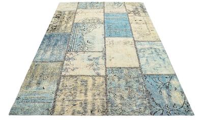 GALLERY M Teppich »Patch«, rechteckig, 5 mm Höhe, Flachgewebe, Wohnzimmer kaufen
