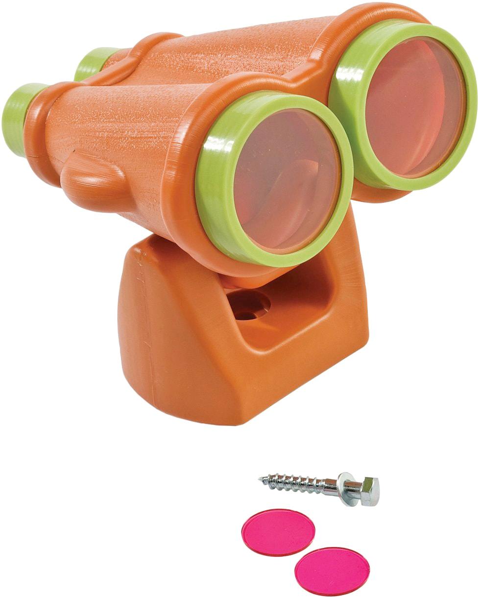 AXI Kinderfernglas, Fernglas orange/lindgrün orange Kinder Ferngläser Foto, Video Optik Kinderfernglas