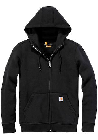 CARHARTT Sweatshirtjacke »Clarksburg Full Zip«, mit Frontreissverschluß kaufen