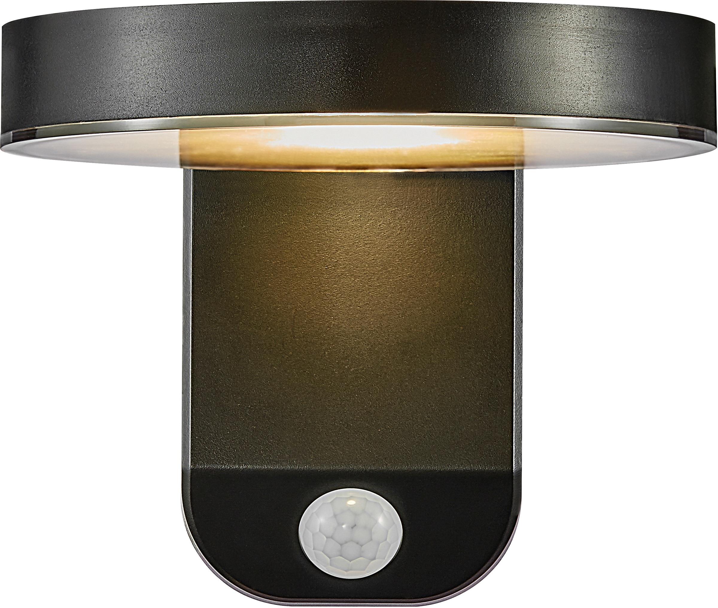 Nordlux LED Außen-Wandleuchte RICA, LED-Modul, 5 Jahre Garantie auf die LED/ Solar Modul