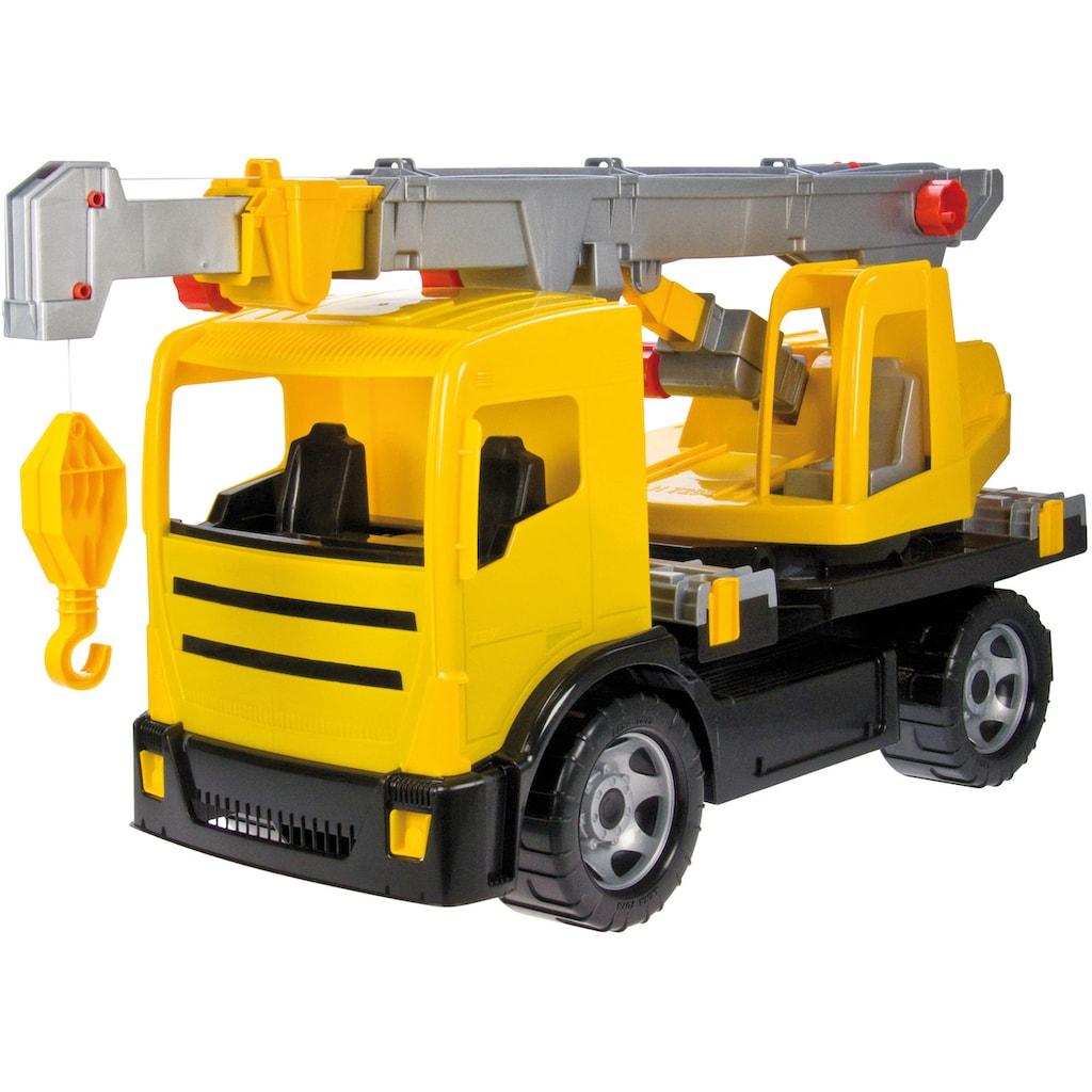 Lena® Spielzeug-Krankenwagen »Giga Trucks, gelb-schwarz«, Made in Europe